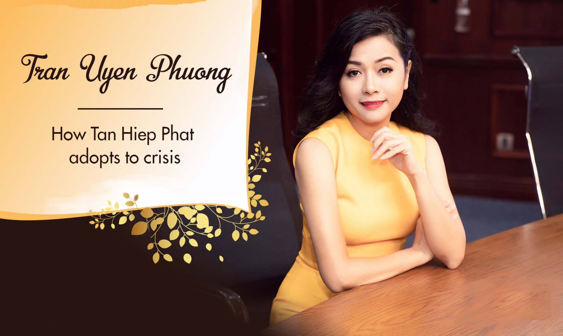 Phuong Uyen Tran: How Tan Hiep Phat Adapts to Crisis