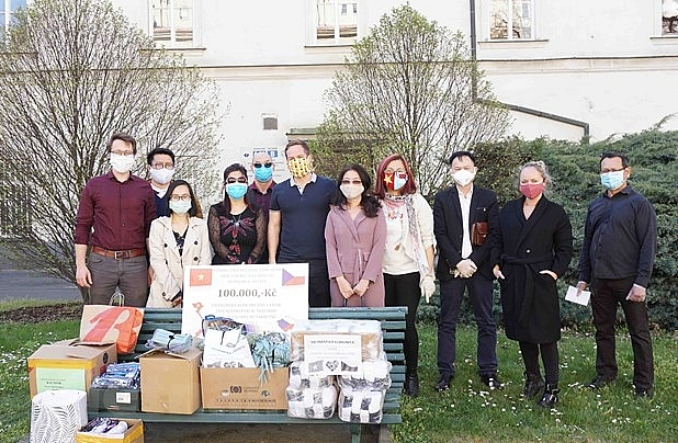 Embassy, community support Vietnamese in Czech hit by biggest tornado in 100 years