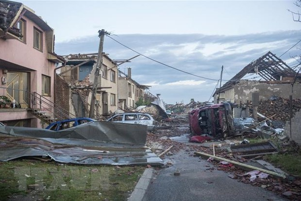 Embassy, community support Vietnamese in Czech Republic hit by biggest tornado in 100 years