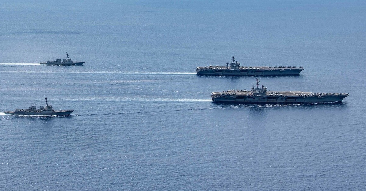 us is unstoppable in bien dong sea south china sea its military warns china