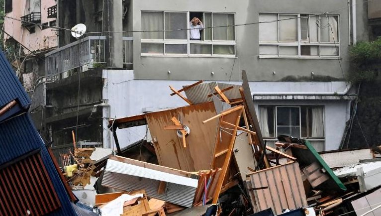 Mudslide Wipes out Homes in Japan: Never Lived Through Anything Like This