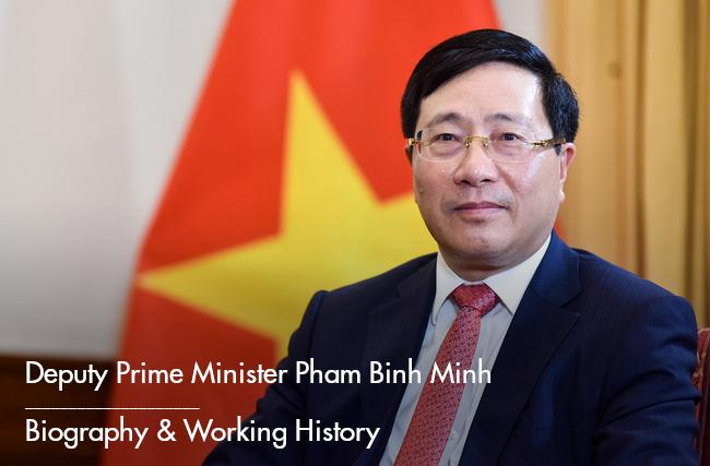 Deputy Prime Minister Pham Binh Minh: Biography & Career