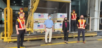 DHL Express delivers US donation of Pfizer-BioNTech vaccines to Malaysia