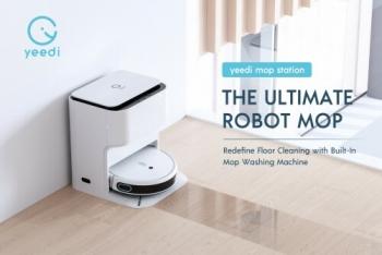 Yeedi Redefines Robot Mops with the Debut of yeedi mop station
