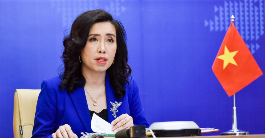 Spokeswoman: Illegal Exploration & Survey In Hoang Sa Violate Vietnam's sovereignty