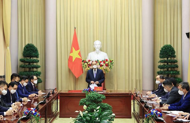Vietnamese & South Korean Leaders Agree to Deepen Relations