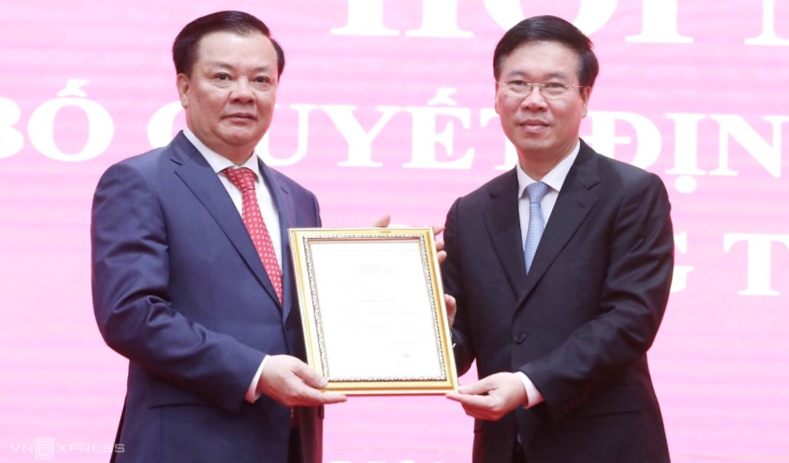 Biography of Secretary of Hanoi Party Committee Dinh Tien Dung: Positions, Working History