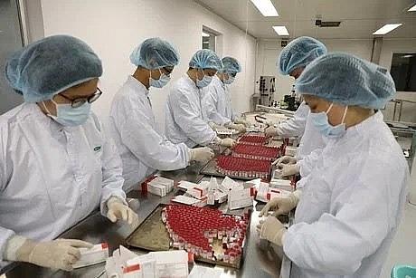 Vietnam produces first batch of Sputnik V Covid-19 vaccine