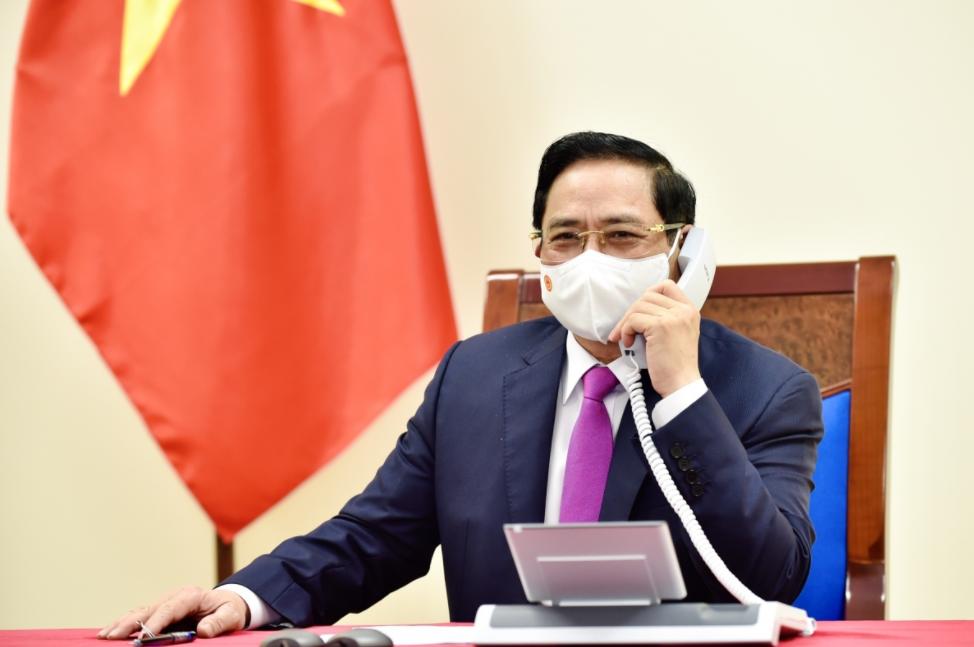 Vietnamese, South Korean PMs Discuss Ways To Reinforce Relations