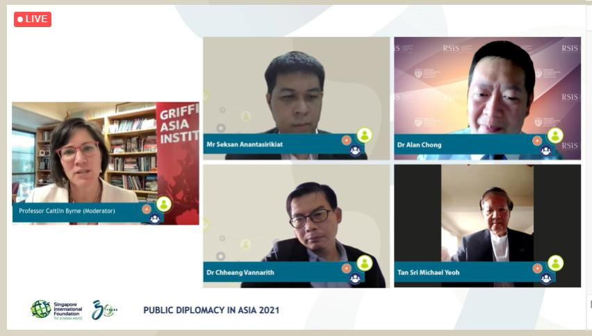 Vietnam-Singapore Friendship Association Joins Public Diplomacy In Asia 2021 Webinar