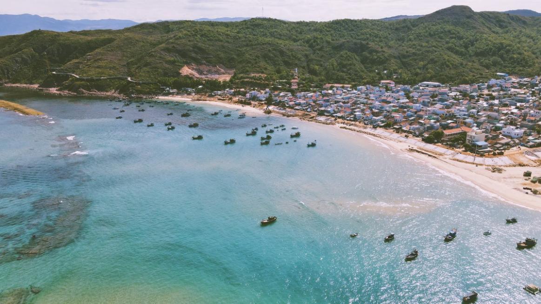 quy nhon boasts top 4 tourist destinations through flycam lenses