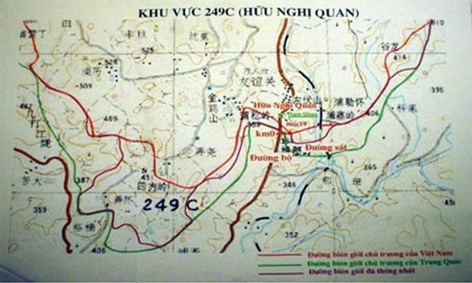 vietnam china borders hotspots where is ai nam quan friendship pass