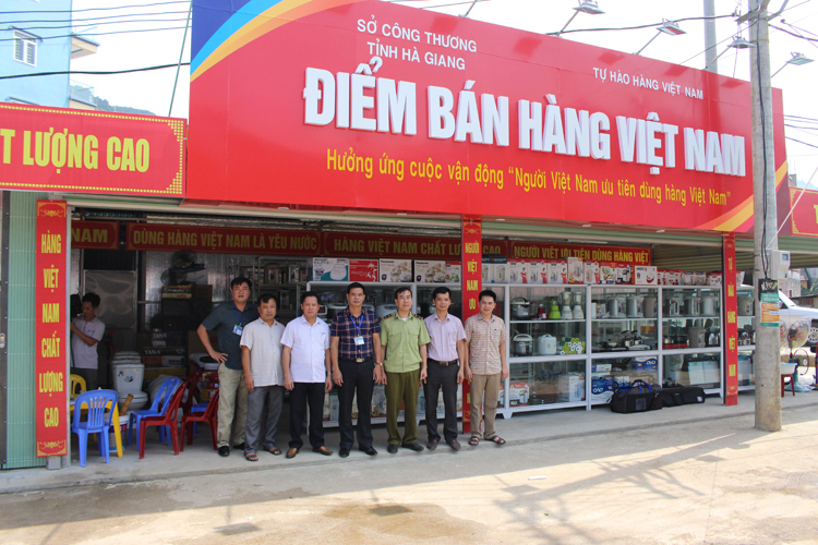 vietnamese goods make up high proportion of domestic supermarket system
