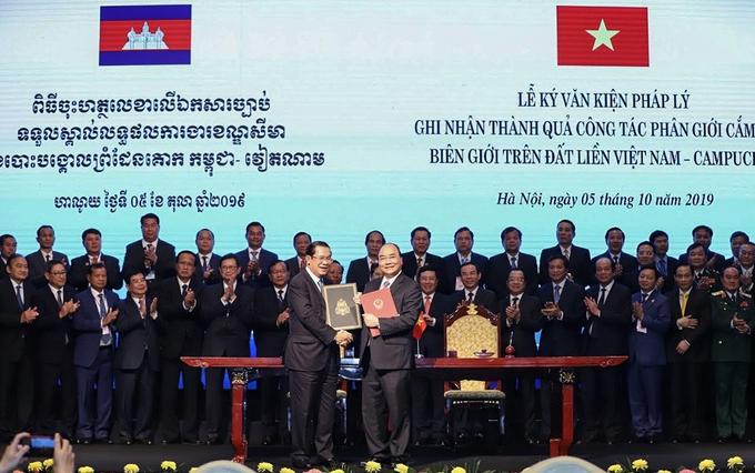 vietnam cambodia border management issues