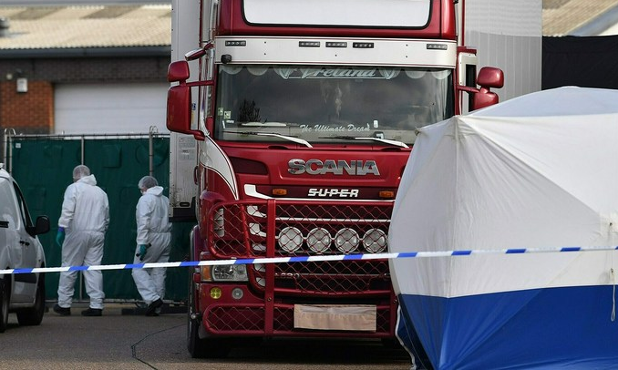 irish driver pleads guilty to manslaughter of vietnamese regarding essex lorry deaths