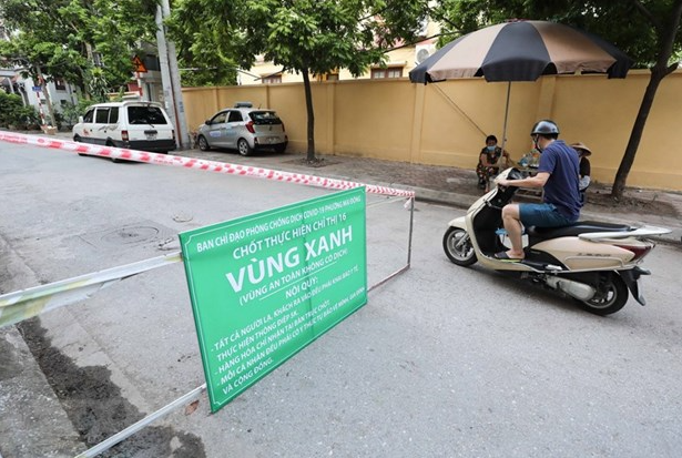 Vietnam Covid-19 Updates (August 4): Hanoi Sets Up First 'Green Zones' Covid-free Areas