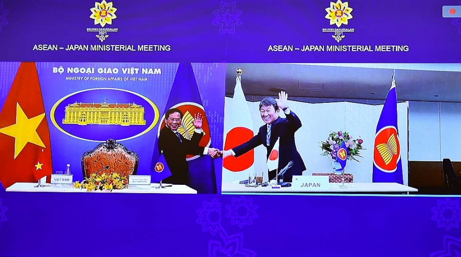 Vietnam Coordinates ASEAN Meetings with Partners at 54th Foreign Ministers' Meeting