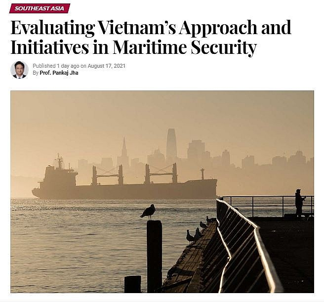 Vietnam's Approach & Initiatives in Maritime Security Highly Evaluated by Int'l Press