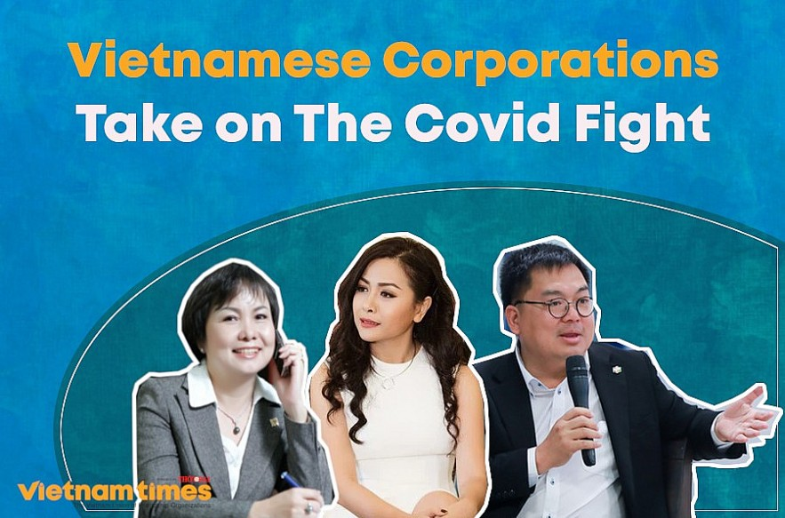 Vietnamese Corporations Take on the Covid-19 Fight