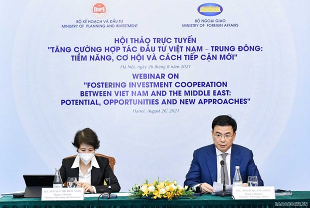 Vietnam, Middle East Seek New Approaches In Investment Cooperation