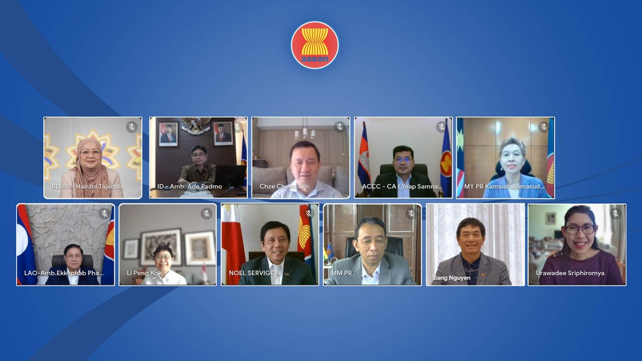 ASEAN Members Promote Recovery And Resilience Through Connectivity