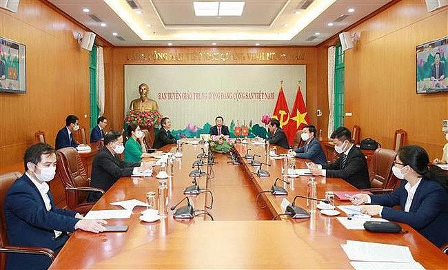 Vietnam, China Enhance Cooperation In Popularization Work