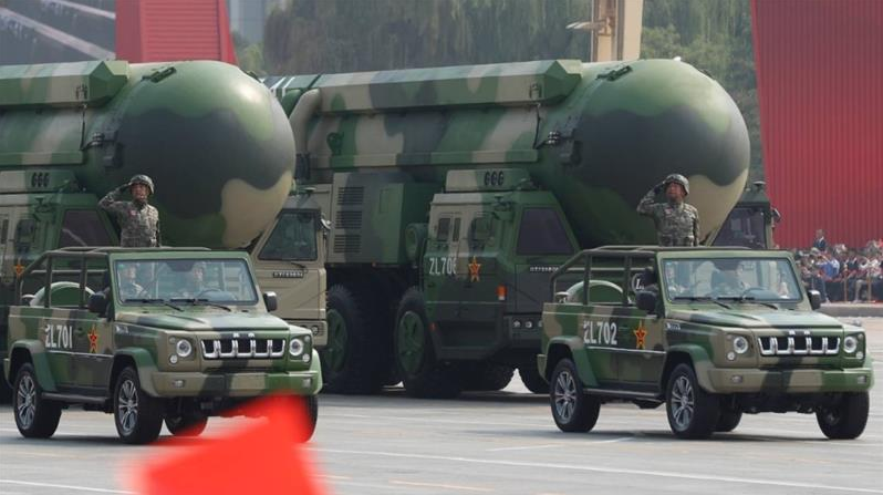 beijing rejects us report on chinese nuclear warheads