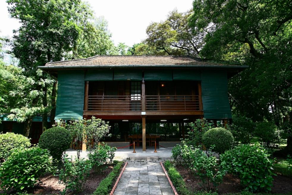 In Photos: Uncle Ho's stilt house in an autumn morning
