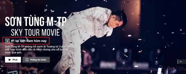 Vietnamese Pop Prince's documentary hits International Top Trending Lists on Netflix