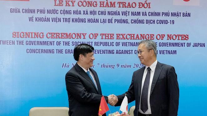 Japan donates billion dong to Vietnam