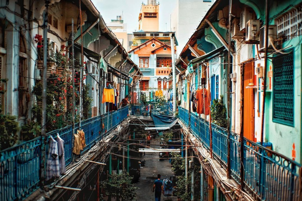 exploring antique sight of ho chi minh citys 100 year old alley