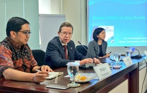 russian ambassador hails vietnams efforts as asean chair