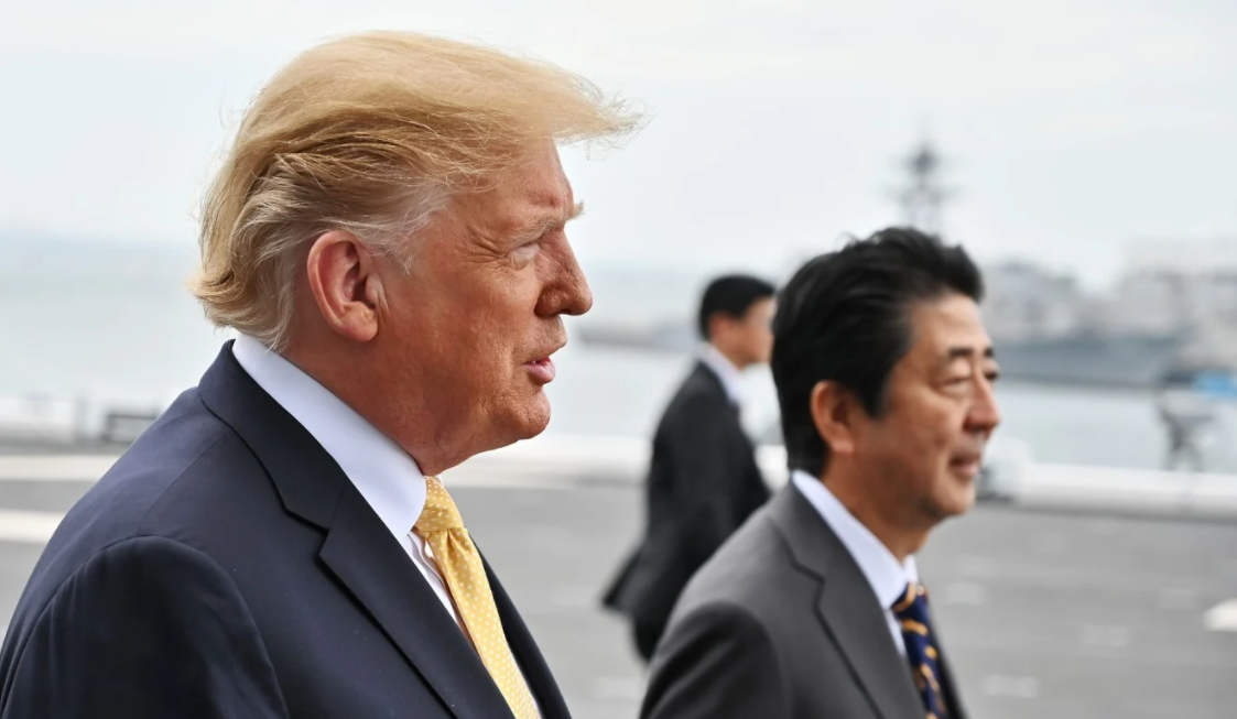 suga and trump first call vow to boost japan us security alliance