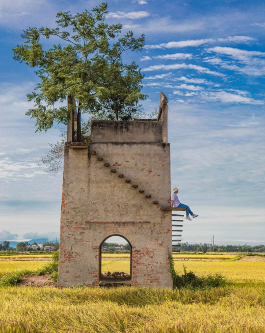 abandoned brick kilns becomes famous check in point in quang nam