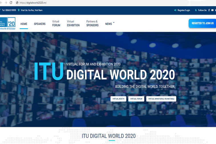 vietnam to host the first virtual itu digital world forum and exhibition