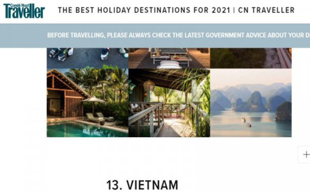 covid 19 updates september 27 vietnam listed among top destinations after covid 19