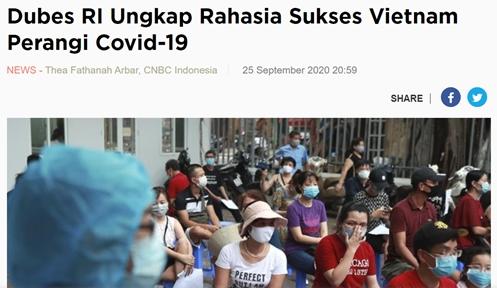 covid 19 updates september 28 indonesia ambassador praise vietnams success