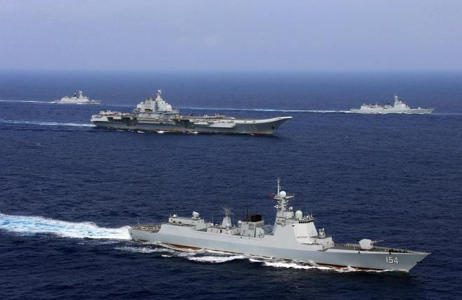 China holds simultaneous military drills in four seas and Vietnam