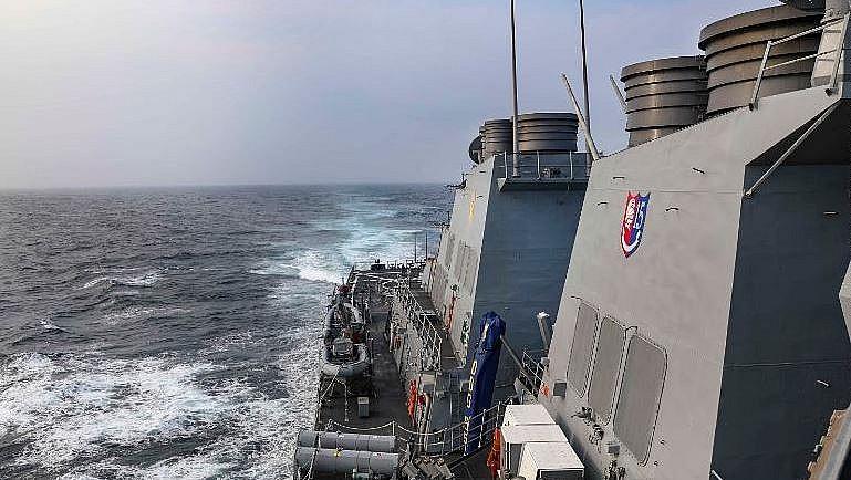 US Sails Ship Through South China Sea Despite Beijing's New Notification Law
