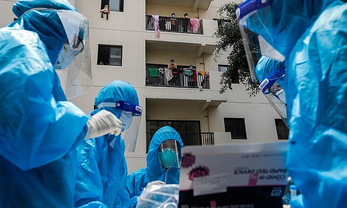 Vietnam Covid-19 Updates (September 10): Single-day Infection Tally Reaches 12,420