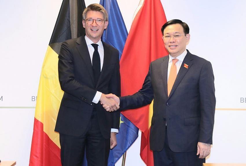 Top Legislator Works With European Countries To Enhance Ties