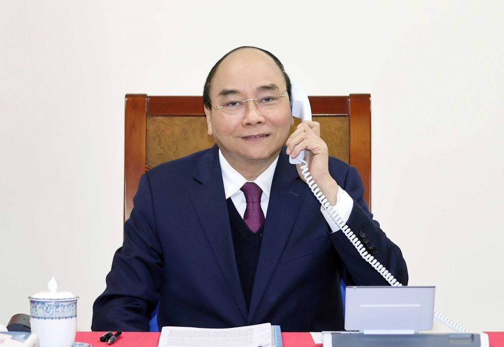 Vietnamese, Russian Presidents Hold Phone Talk To Foster Partnership