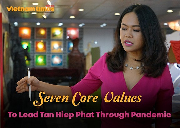 Seven Core Values To Lead Tan Hiep Phat Through Pandemic