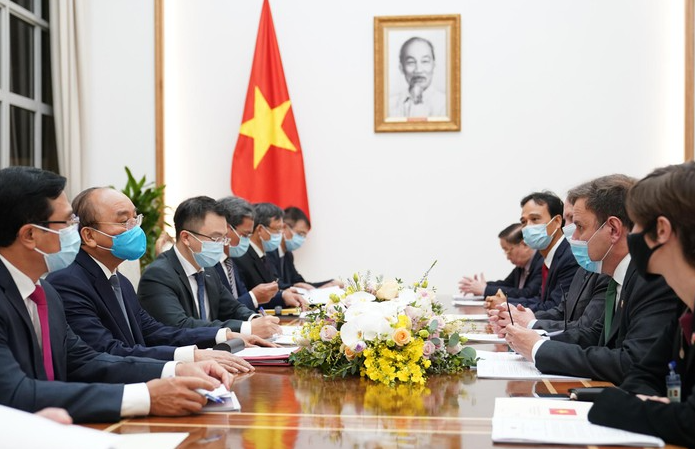 pm receives uk enterprize energy group president to visit and invest in vietnam