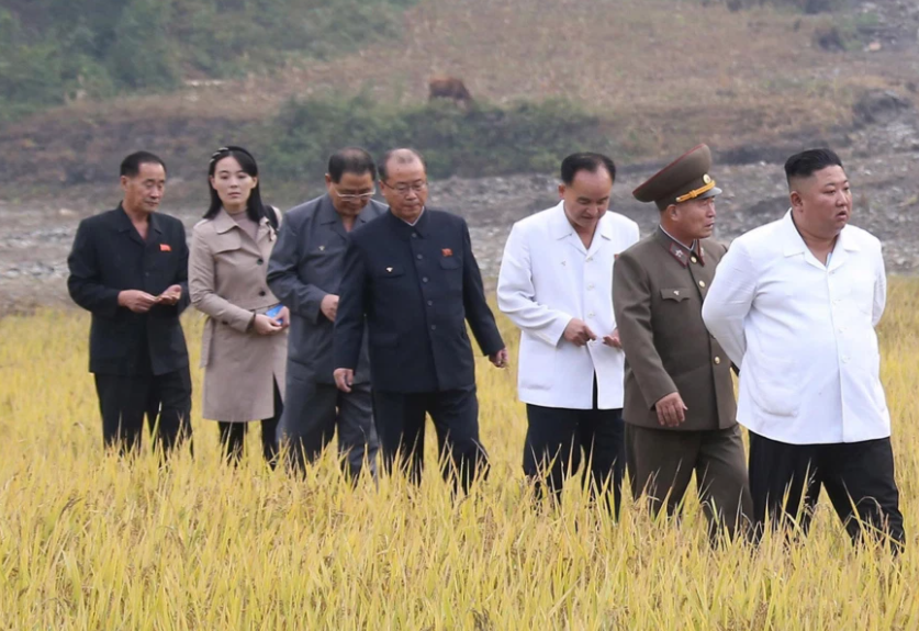 kim jong uns sister kim yo jong makes first appearance in state media since july