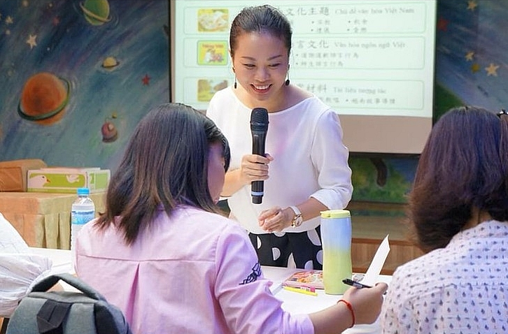 teaching vietnamese in taiwan promoting international affection towards vietnamese