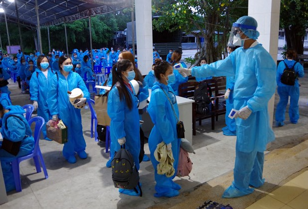 covid 19 updates october 10 vietnam enters 38th day without community infection