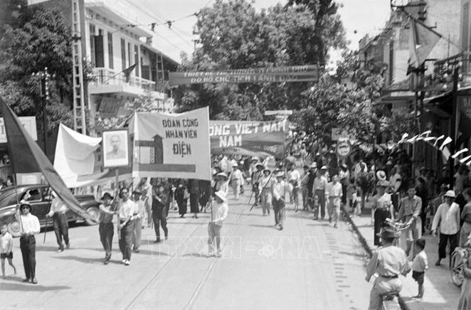 In Photo: A throwback of Hanoi's liberation on October 10, 1954