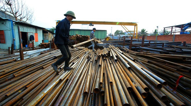 Vietnam spends more than 6 billion USD on importing iron and steel