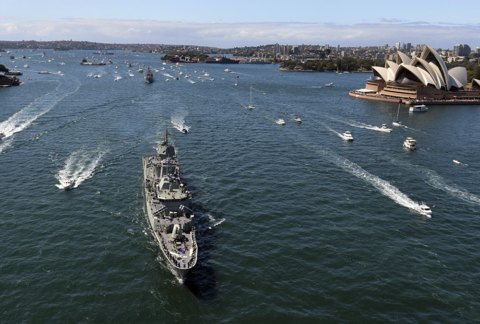 australia joins quad drill with us japan india